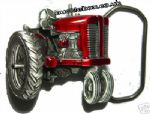 Vintage Tractor Small Belt Buckle + display stand. Code KE8